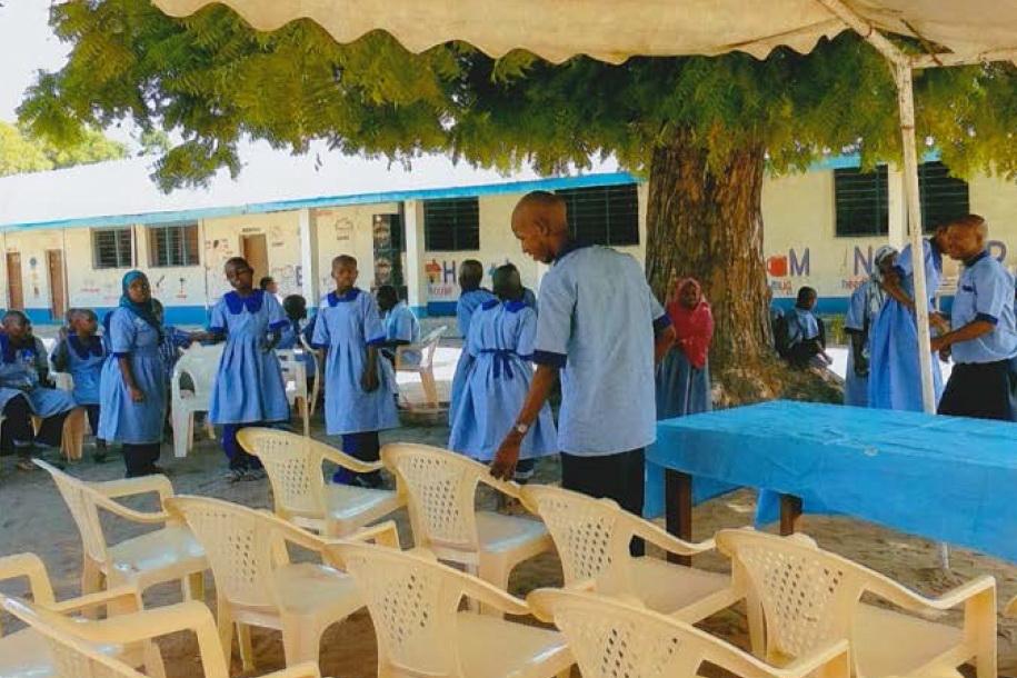 Hilfe für Lamu